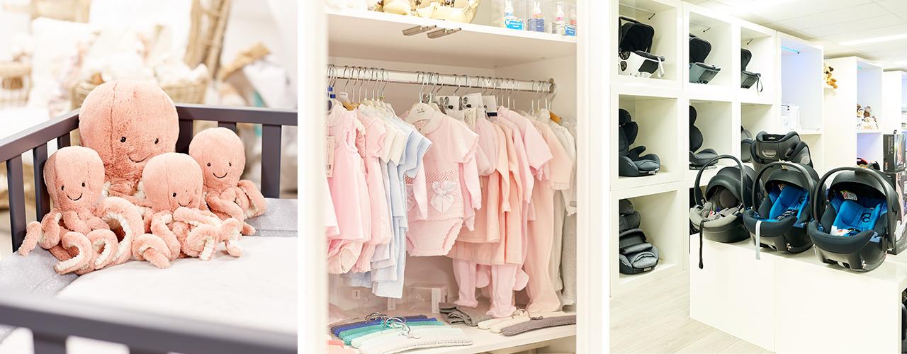 Dynamische winkelmedewerker babyartikelen Knokke